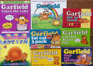 GARFIELD Comic Books - 8 for $25