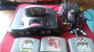 Working n64 4games 1 controller