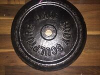 Gym Equipment Weight Plates & Barbells for sale
