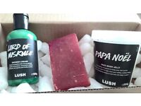 Lush Noel Products