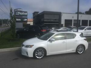 2012 Lexus CT 200h hybride **WOW 33172km**