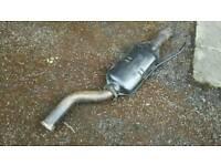 W124 rear exhaust