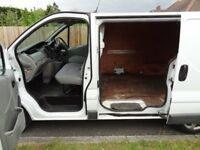 RENAULT TRAFIC SWB DCI 115 BHP ECO2 WHITE VAN NOT VAUXHALL VIVARO MERCEDES VITO FORD TRANSIT VW T5
