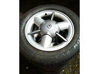 14 inch Renault Clio Taurus Alloy wheels!