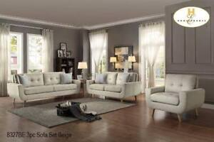 SELLING OFF ALL LAST MONTHS FLOOR MODEL SOFA SETS TODAY