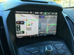 Navigation GPS screen and module 2013-2015 Ford Escape