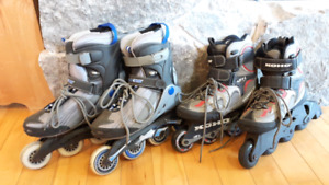Rollerblades (size 7 and 8)