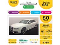 Audi A5 S Line FROM £51 PER WEEK!