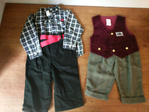 Boys clothing size 6-9 and 9 months (60 pieces)