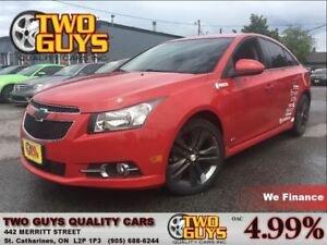 2012 Chevrolet Cruze LT R/S ALLOYS TURBO 1.4L 6SPEED