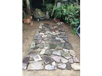 Yorkshire paving stone suitable for crazy paving