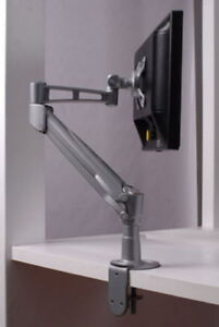 Gas Spring Single LCD Monitor Desk Mount Stand upto 28""
