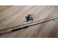 Fantastic TF gear Compact fishing Rod and Reel