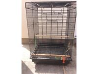 Black Budgie cage for sale