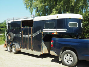 3-H Horse Trailer - GOOD SHAPE