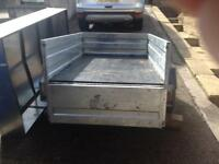 MP715 Maypole Tipping Trailer 505 kg carry capacity .