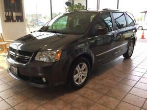 2016 Dodge Grand Caravan Crew HEATED STEERING! BLUETOOTH! ECO...