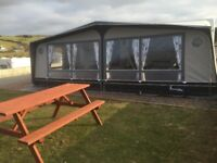 Isabella COMMODORE SEED caravan Awning SIZE 1100 WITH MEGA FRAME 18months old