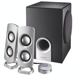Insignia 2.1 Computer Speaker System - NEW IN BOX