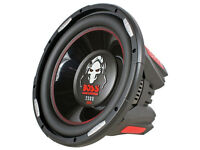 12 inch subwoofer boss audio 2300w peaks at 1150w