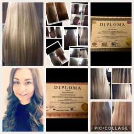 Hair Extensions Leeds Pre Bonded Micro And Mano