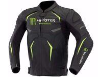 Monster Motorbike Leather Jacket Motorbike Motorcycle Leather Jacket