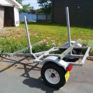 Custom built kayak trailer, could fit other uses.