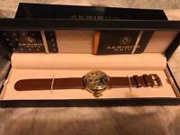 Akribos men's watch
