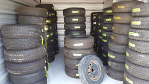 Various sizes of Tires- $100 per set.
