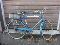"Raleigh 26"" gents cycle badged as 'BSA Granada' (1972)"
