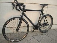 Black Cannondale CAADX Cyclocross Road bike