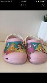 Girl crocs sandals summer princess