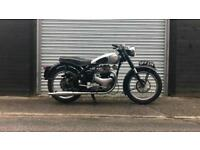 1956 - BSA A7 ss Shooting star 500cc twin Plunger classic motorbike px swap