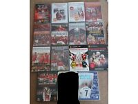 Man Utd Season Review DVD's - Most shrink wrapped - 1999 to 2012
