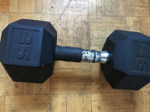 35 lb weights