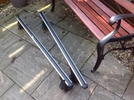 Auto maxi adjustable roof bars,will fit most cars.