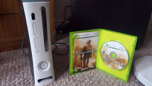 X-Box 360 and one game