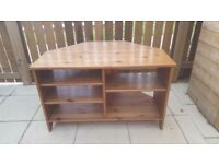 Ikea Solid Oak TV stand, Great quality wood!