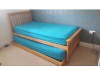 Wooden framed single/ guest beds