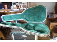 Hard shell guitar case