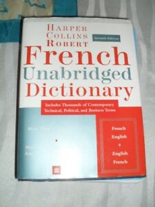 French Unabridged Dictionary -Dictionnaire