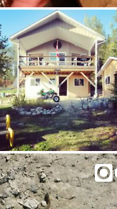 summer cottage for sale , located on redlake in Balmertown Ont
