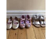 Variety of girls shoes size 11