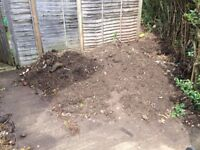 Free soil available for collection