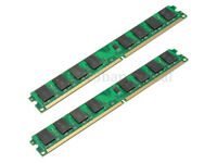 4 GB (2x2GB) DDR2 PC2-6400 DDR2-800 MHZ MEMORY DIMM PC DESKTOP RAM AMD 240 PIN