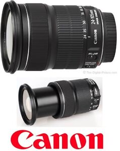 NEW CANON EF 24-105MM F/3.5-5.6 IS STM CAMERA LENS