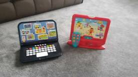 ELC Notebook & Little TV