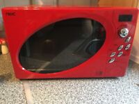 Red Next Microwave Fully Working Brilliant Condition