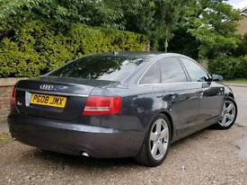 2008 AUDI A6 2.0 TDI S-LINE AUTOMATIC, 2 OWNERS, FULL SERVICE HISTORY, SAT-NAV