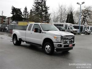 2012 FORD F-350 SUPER DUTY LARIAT EXT CAB LONG BOX DUALLY 4X4